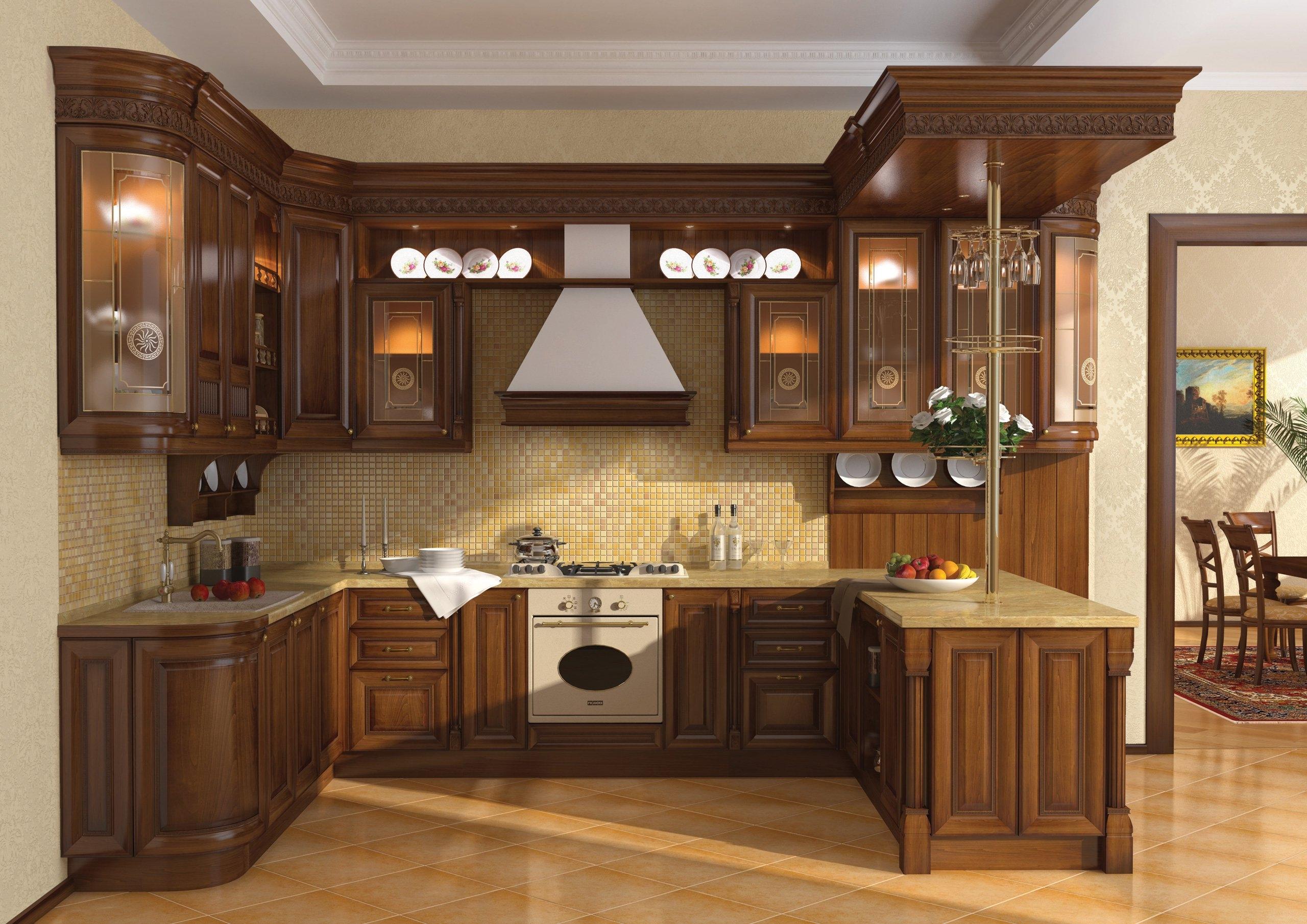 Пол кухни